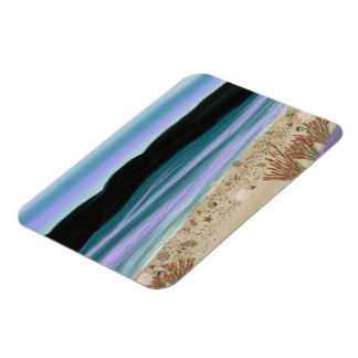 Seashells on the Shore Premium Magnet
