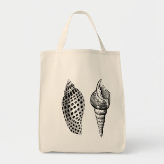 Seashells Organic Cotton Grocery Tote Grocery Tote Bag
