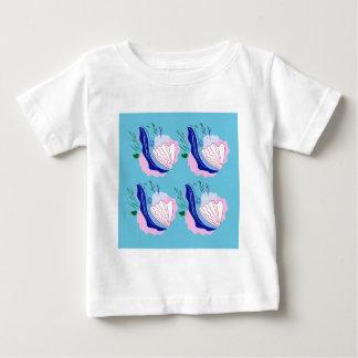 Seashells original hand painted art baby T-Shirt