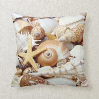 Seashells Pillow Throw Cushion