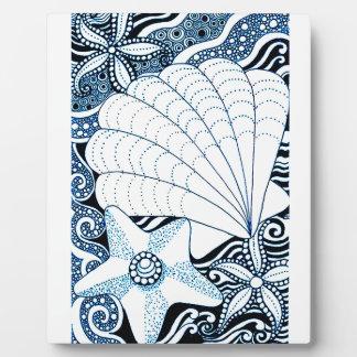 Seashells Plaque