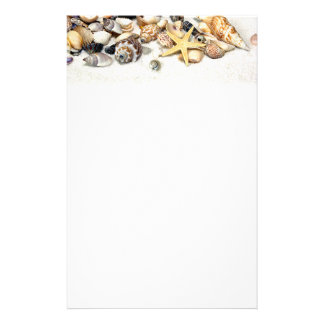 Seashells Stationery