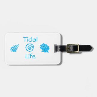 Seashells Tidal Life Bag Tag