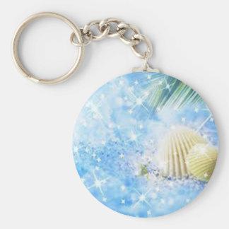 seashels shiney keychain