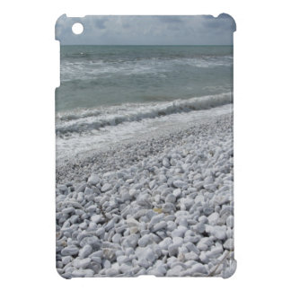 Seashore of a beach in a cloudy day at summer cover for the iPad mini