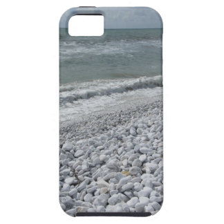 Seashore of a beach in a cloudy day at summer iPhone 5 cases