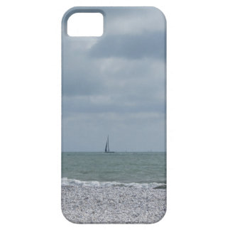 Seashore of beach during regatta at summer barely there iPhone 5 case