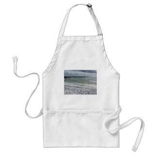 Seashore of beach in a cloudy day at summer standard apron