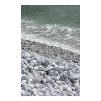 Seashore of Marina di Pisa beach in a cloudy day Customised Stationery