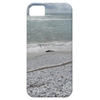 Seashore of Marina di Pisa beach in a cloudy day iPhone 5 Case