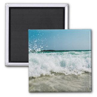 Seashore Seascape Waves Beach Magnet