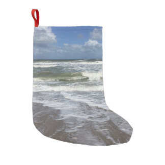 Seashore Tide Small Christmas Stocking