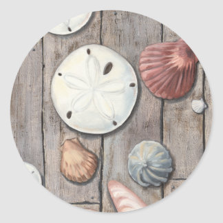 Seashore Treasures Classic Round Sticker