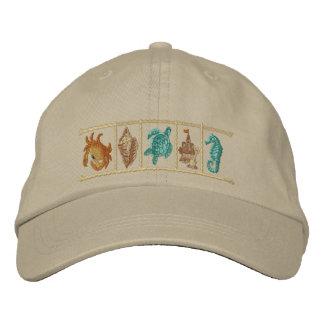 Seashore Treasures Embroidered Baseball Caps