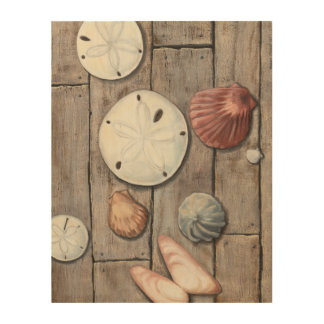 Seashore Treasures Wood Wall Art