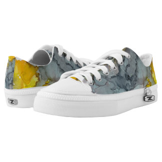 Seaside Abstract Low Tops