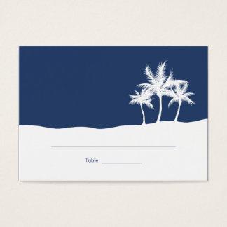 Seaside Dreams Wedding Place Card