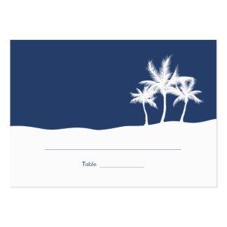 Seaside Dreams Wedding Place Card Business Card