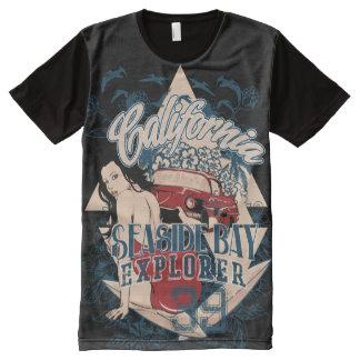 Seaside Explorer All-Over Print T-Shirt