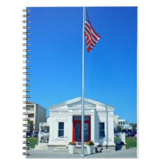 Seaside, FL Post Office photo on notebook