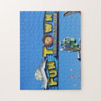 Seaside Funtown Pier Jigsaw Puzzle