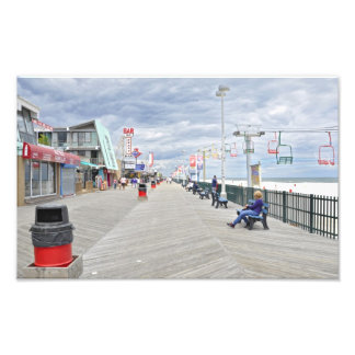 Seaside Heights Boardwalk Photographic Print