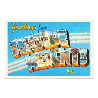 Seaside Heights New Jersey NJ Vintage Postcard- Photo