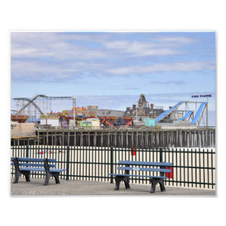 Seaside Heights, NJ Amusement Pier Photo