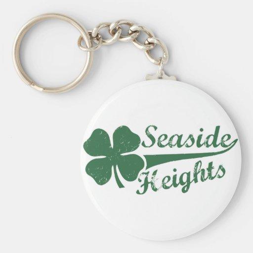 Seaside Heights NJ St. Patty's Day Key Chain