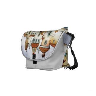 Seaside rickshaw bag commuter bag