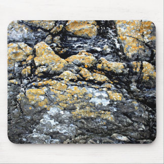 Seaside rock mouse pad