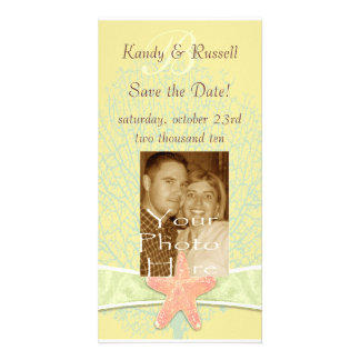 Seaside Save the Date Photocard Photo Cards