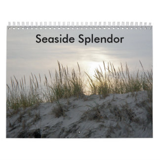 Seaside Splendor Wall Calendar
