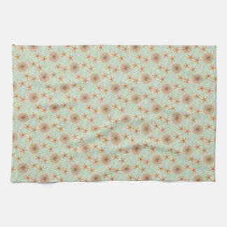Seaside Stuff Pattern Kitchen Towel