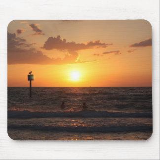Seaside sunset mousepad