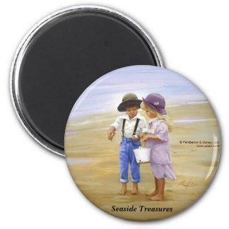 Seaside Treasures 6 Cm Round Magnet