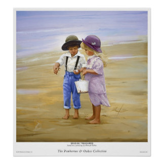 Seaside Treasures Poster