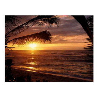 Seaside view postcard