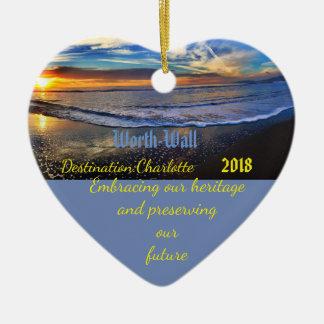 Seaside Worth Family 2018 Ornament
