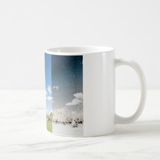 Season change in Paris Coffee Mug
