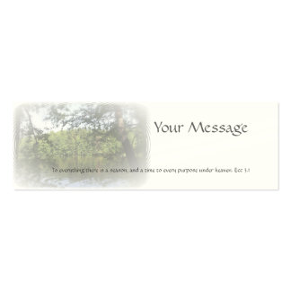 Season Ecclesiastes Name Gift Tag Business Card