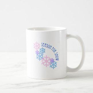 Season For Snow Coffee Mugs