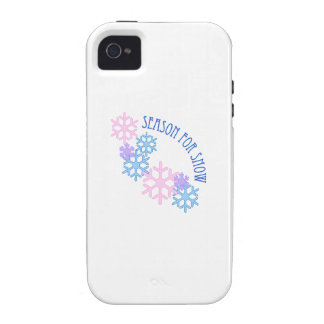 Season For Snow Vibe iPhone 4 Cover