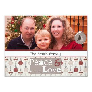 season greeting christmas photo cards 14 cm x 19 cm invitation card