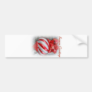 Season Greetings_ Bumper Sticker