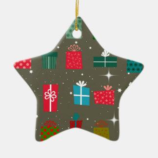 Season of Greetings Christmas Tree Ornaments
