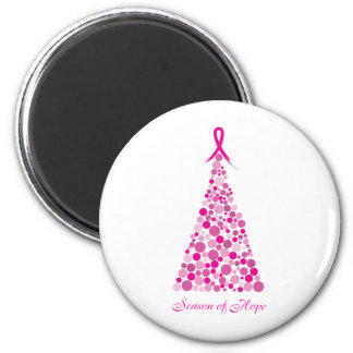 Season of Hope - Breast Cancer Refrigerator Magnet