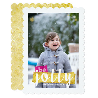 Season of Joy Holiday Photo Card