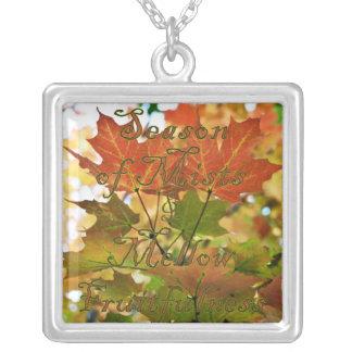 Season Of Mists Autumn Necklace