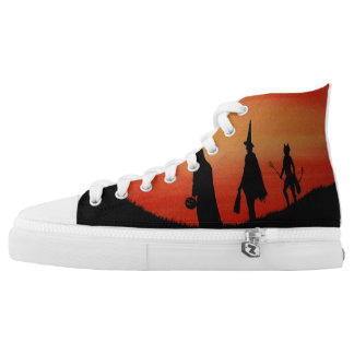Season of the Witch Hi Top Shoes Printed Shoes